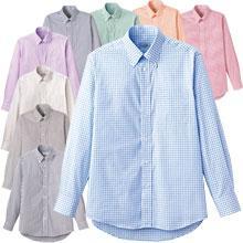 ロープライスBDチェックシャツ(長袖)