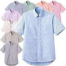 ロープライスBDチェックシャツ(半袖)
