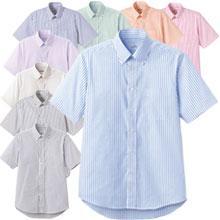 ロープライスBDストライプシャツ(半袖)