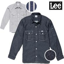 【Lee】ワークシャツ長袖