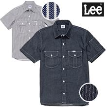 【Lee】ワークシャツ半袖