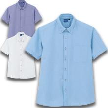 【帯電防止】ノーアイロンオックスシャツ(半袖)