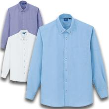 【帯電防止】ノーアイロンオックスシャツ(長袖)