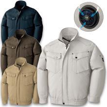 【空調風神服】BK6097長袖ジャケット+空調ファンセット