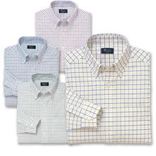 リンクルフリーボタンダウンオックスシャツ(長袖)