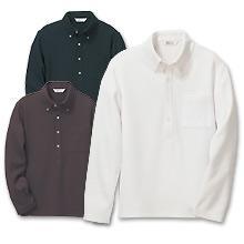 東レJOBBYボタンダウンニットシャツ(長袖)