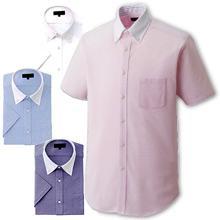 【動きやすいニットシャツ】ボタンダウンクレリックZシャツ(半袖)