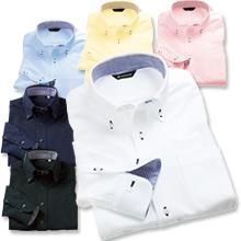 【動きやすいニットシャツ】ボタンダウンストレッチZシャツ(長袖)
