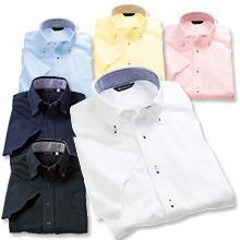 【動きやすいニットシャツ】ボタンダウンストレッチZシャツ(半袖)