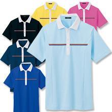 袖ペンポケット付アクティブドライポロシャツ(半袖)