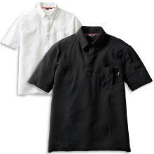 鹿の子ボタンダウンポロシャツ(半袖)