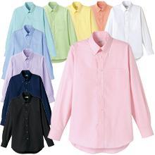 カラフルBDオックスシャツ(長袖)