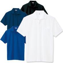 【袖ペンポケット付き】吸汗速乾ベーシック半袖ポロシャツ