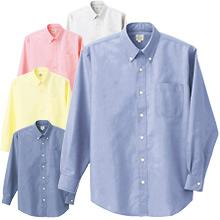 ロープライスノーアイロンオックスシャツ(長袖)