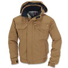 綿100%撥水防寒ジャケット
