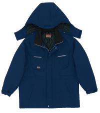 帯電防止ストレッチツイル防寒コート