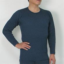 【ひだまり】チョモランマ丸首長袖シャツ
