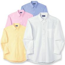 スーパーノーアイロンオックスシャツ(長袖)