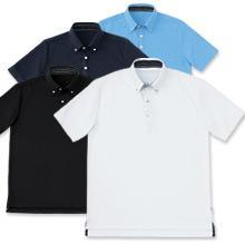 ボタンダウンビジネスポロシャツ(半袖)
