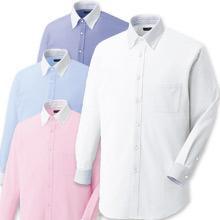 【動きやすいニットシャツ】ボタンダウンクレリックZシャツ(長袖)